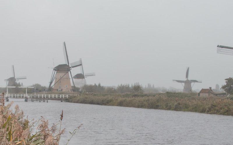 molens van Kinderdijk Nederland