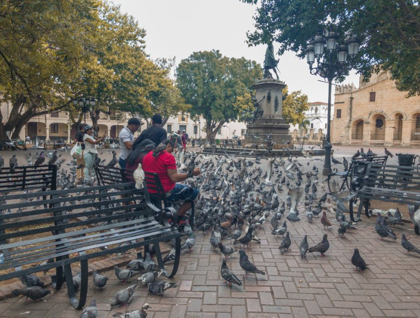 Santo Domingo Columbus Park covid 19