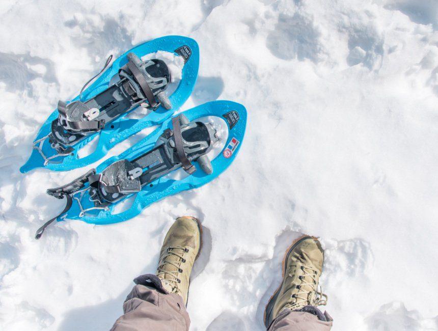 sneeuwschoenwandelen waterdichte schoenen Salomon