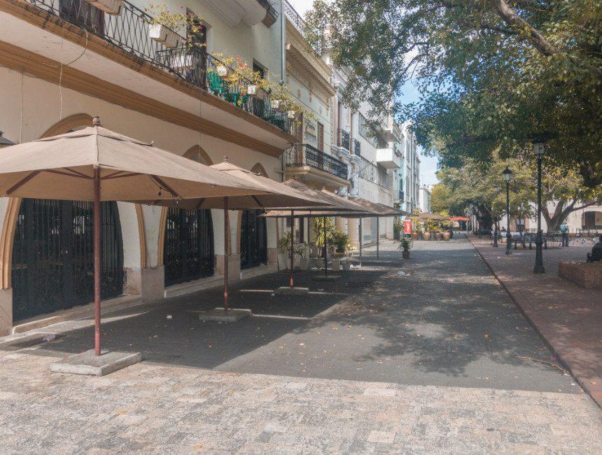 terrasjes Santo Domingo Covid 19