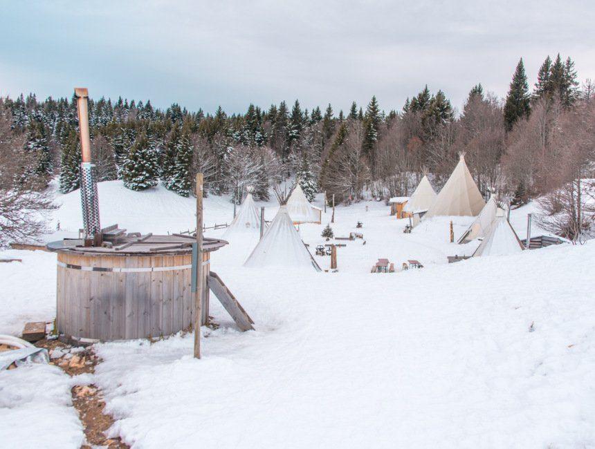 village tipi savoie mont blanc