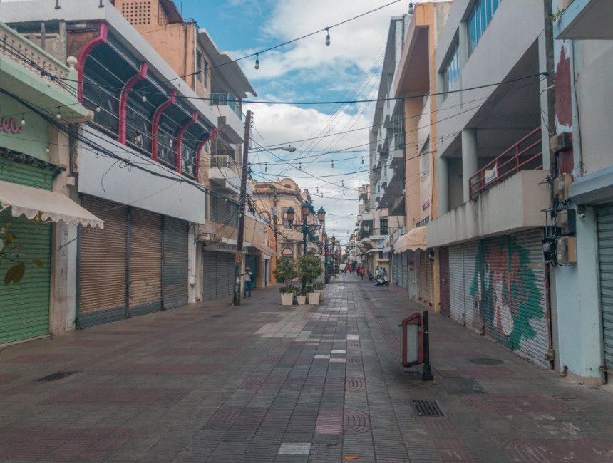 winkelstraat Santo Domingo Corona