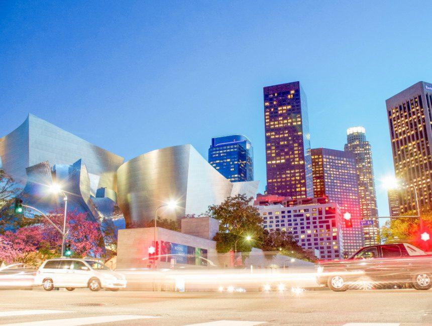 Walt Disney Concert Hall interessante plekjes Los Angeles
