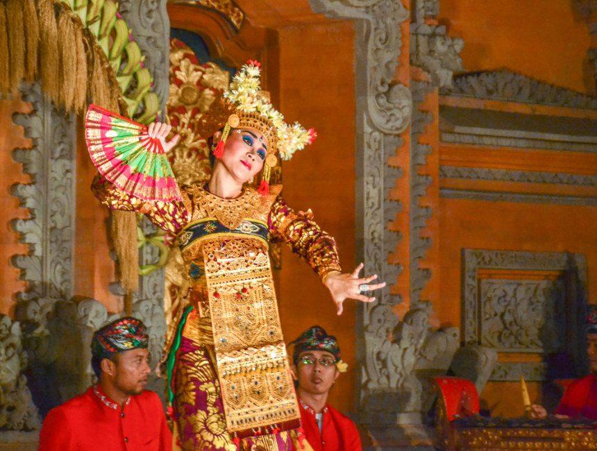 Balinese dansvoorstelling rondreis Bali