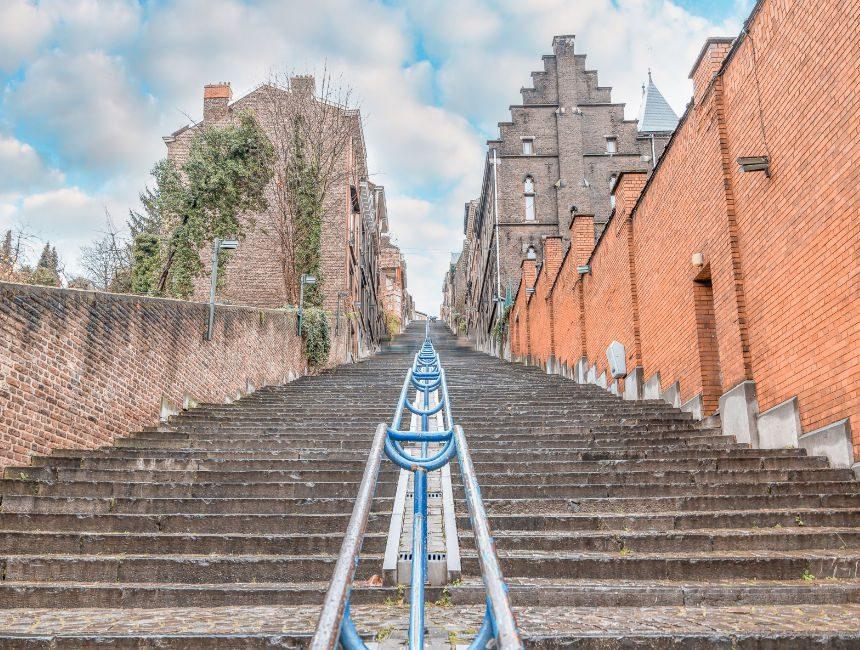 Buerenberg trappen Luik bezienswaardigheden