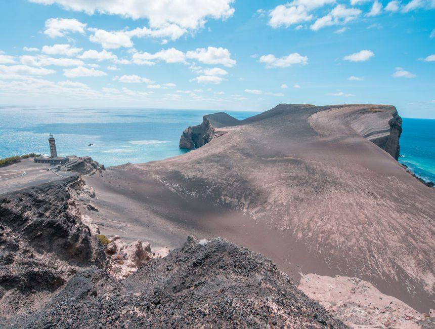 Capelinhos vulkaan faial azoren