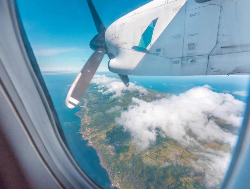 eilandhoppen azoren SATA airlines