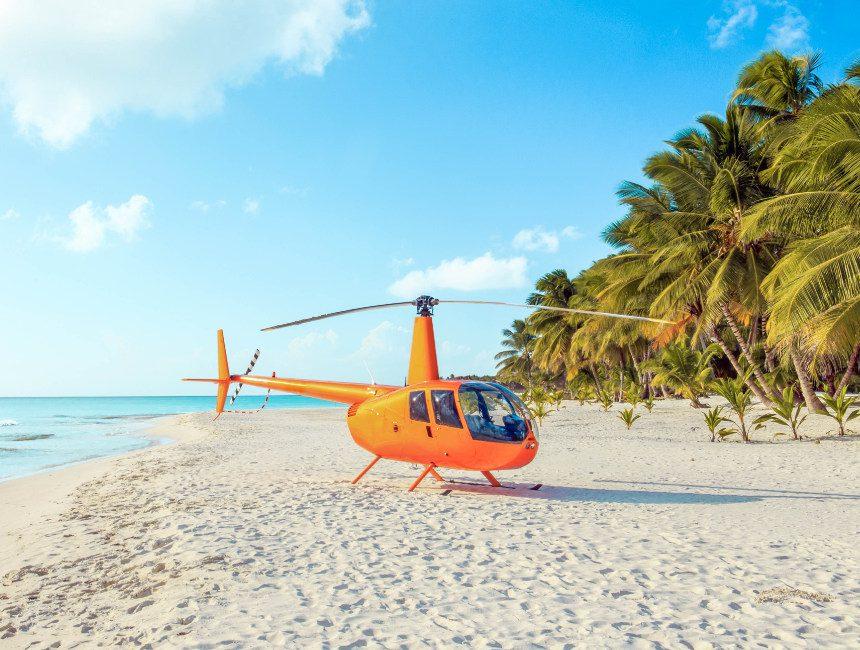 helikoptervlucht dominicaanse republiek punta cana