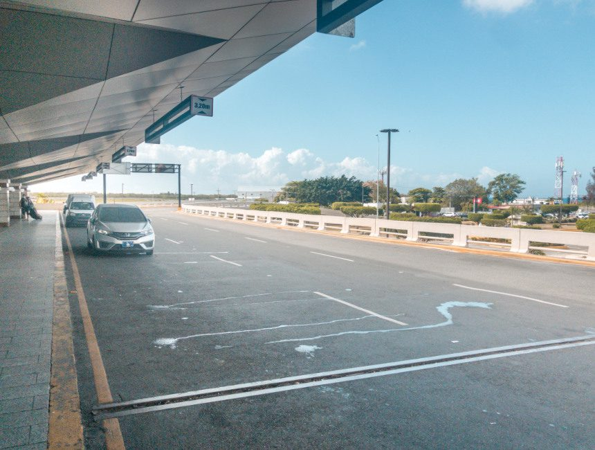luchthaven santo domingo corona virus
