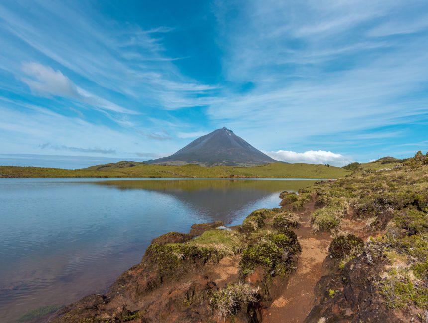 Pico azoren vulkaan