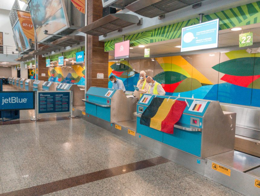 repatrieringsvlucht Belgie Dominicaanse Republiek