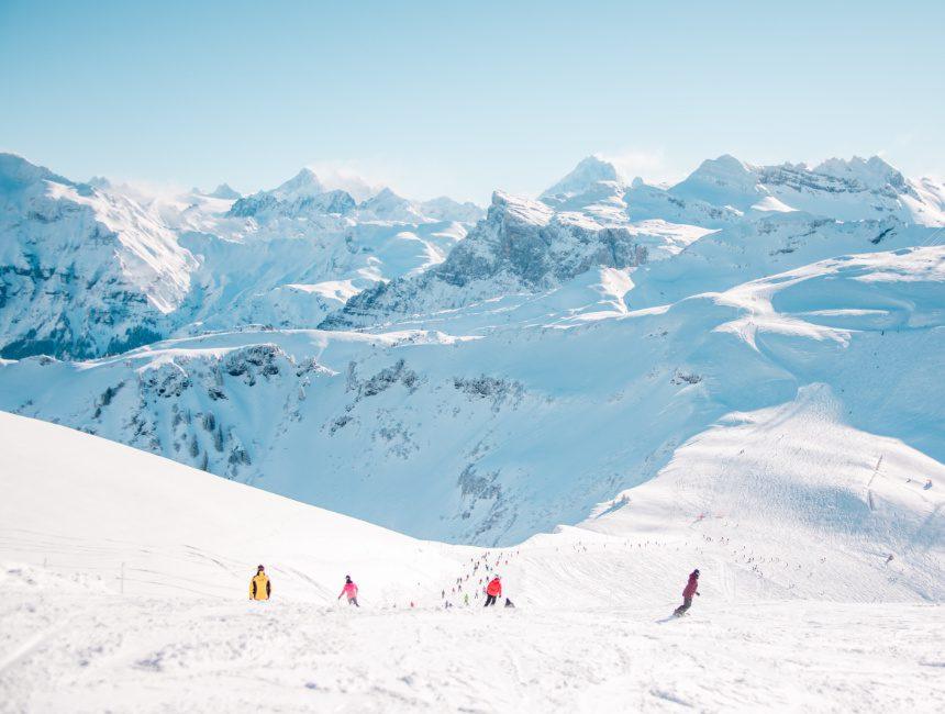 Skiën Grand Massif