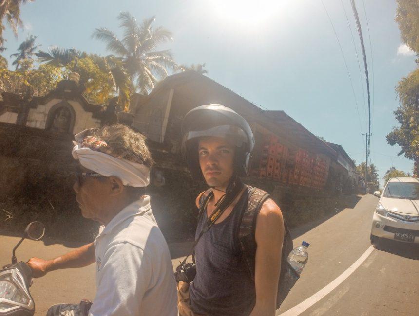 vervoer bali scooter