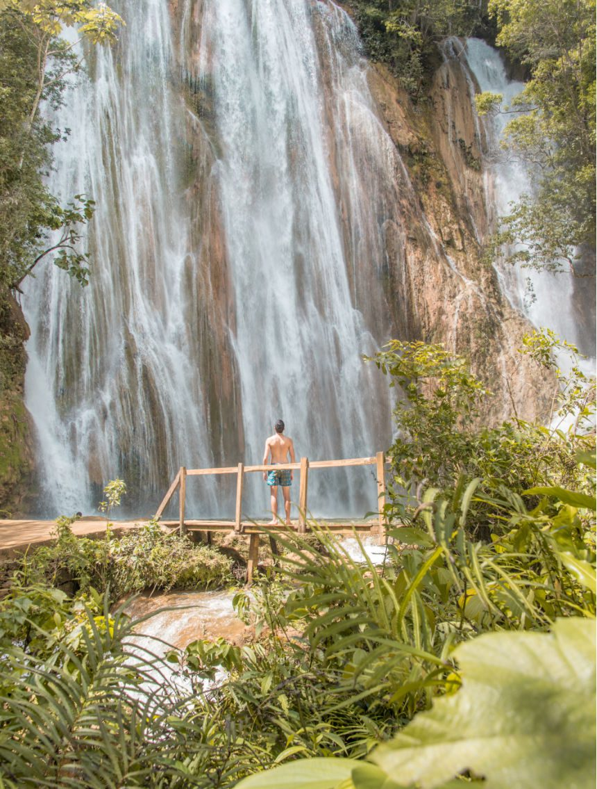 El Limon waterval Dominicaanse Republiek