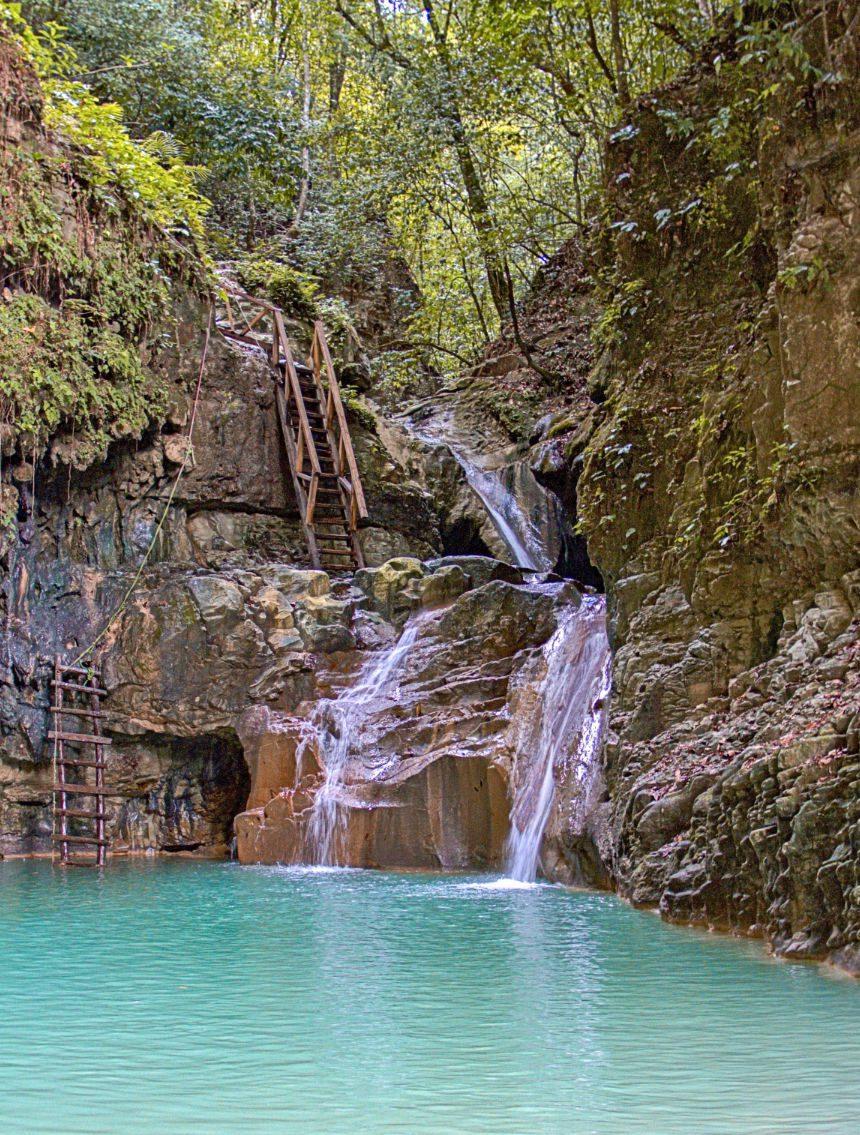 Damajagua watervallen Puerto Plata