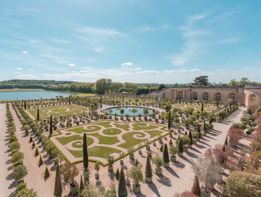 tuinen van Versailles