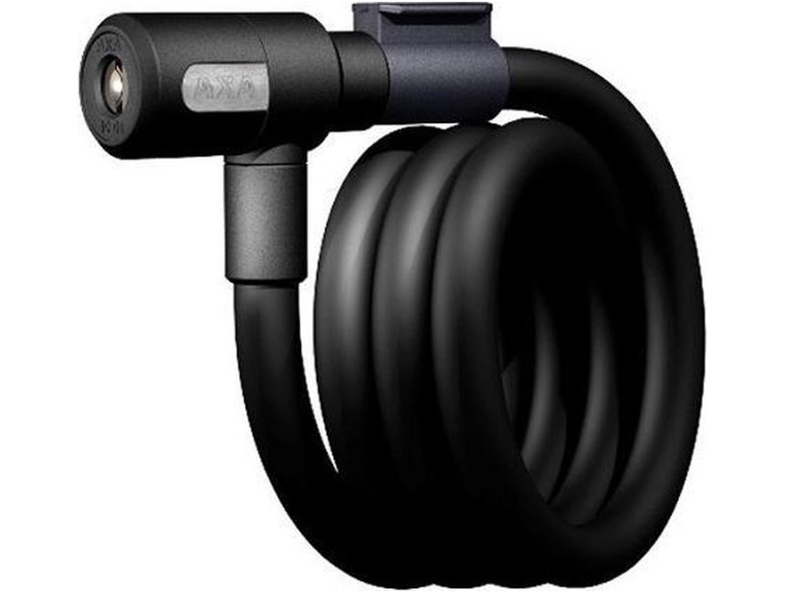 AXA Newton zwart kabelslot 120 cm