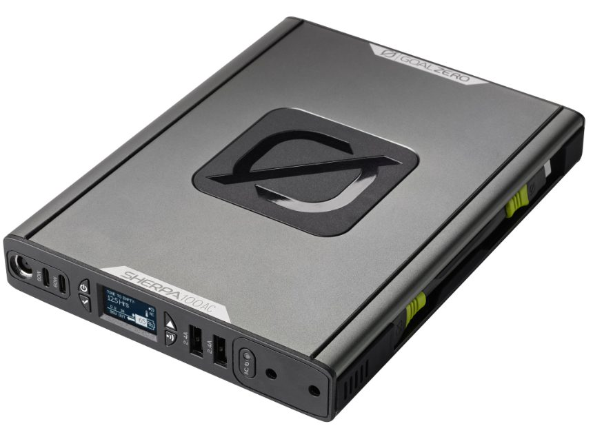Beste powerbank voor je laptop: Goal Zero Sherpa 100 AC