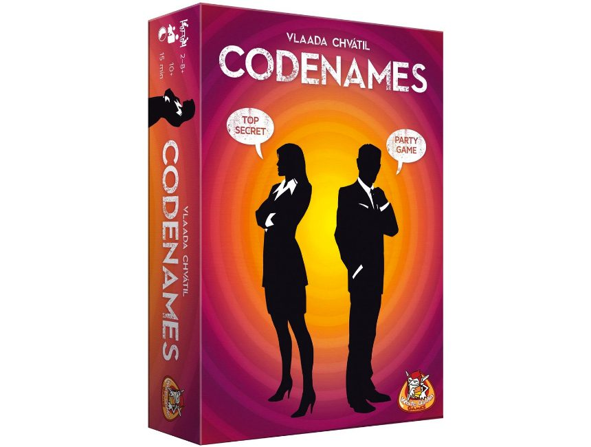 Codenames reisspelletjes