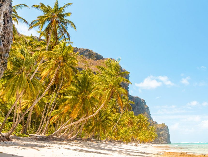 Playa Fronton Samana Dominicaanse Republiek