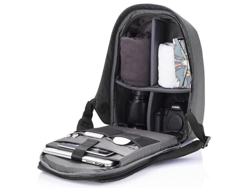 anti-diefstal camera rugzak: XD Design Bobby Pro