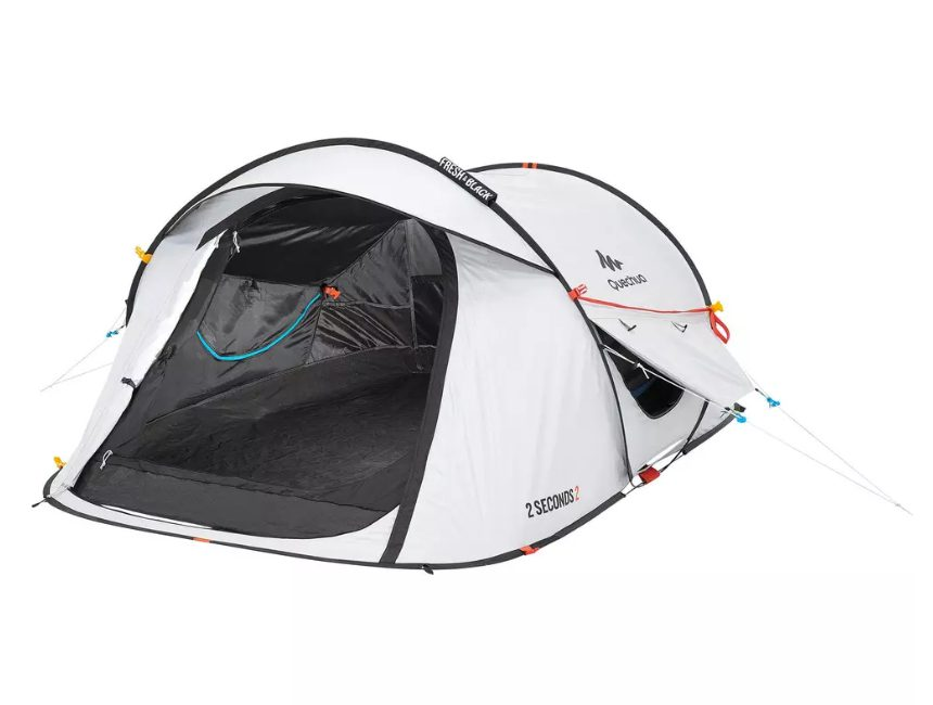 beste pop-up tent Decathlon