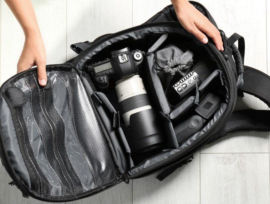 rugzak spiegelreflexcamera