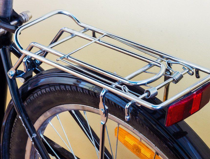 bagagedrager fiets achteraan