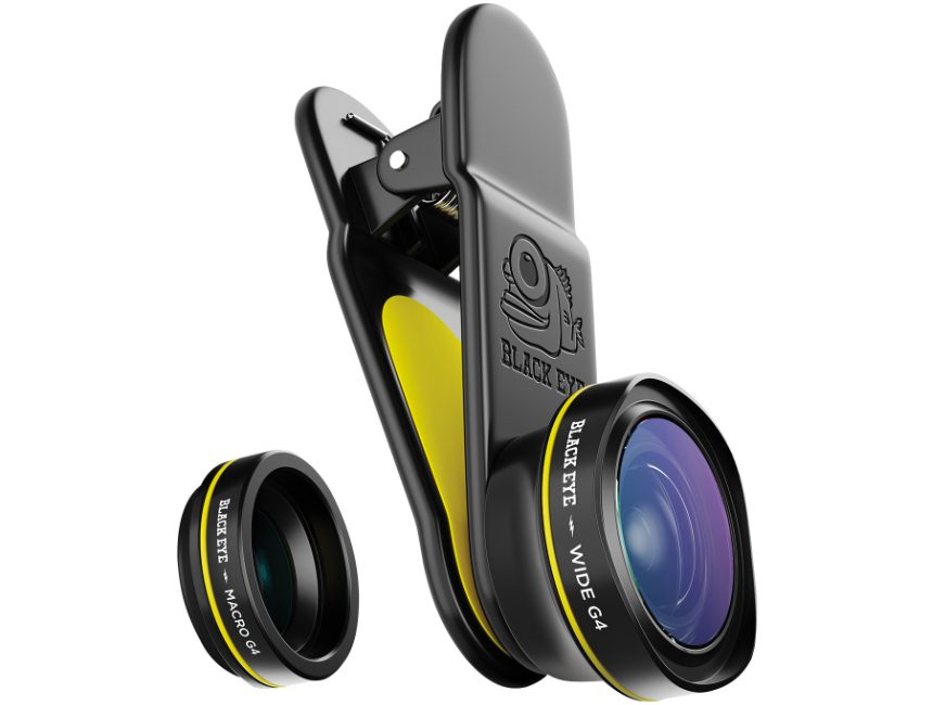 Black Eye Combo G4 clip on smartphone lens