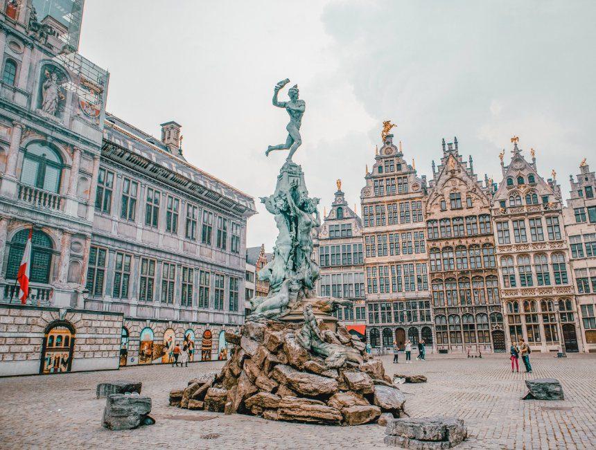 Grote Markt Antwerpen bezienswaardigheden