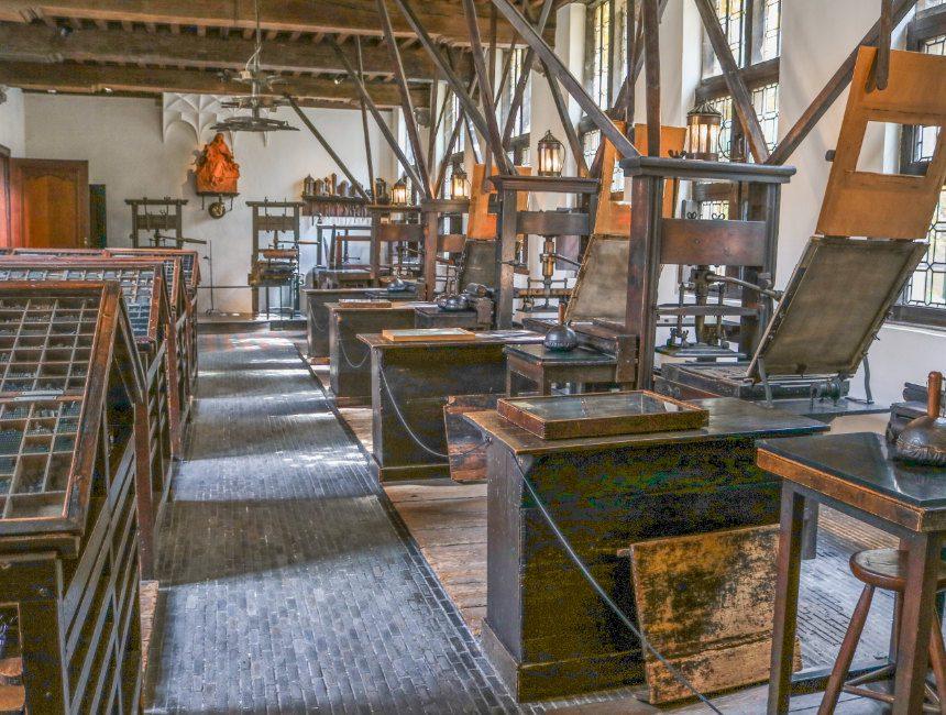 Plantin-Moretusmuseum boekdrukkunst