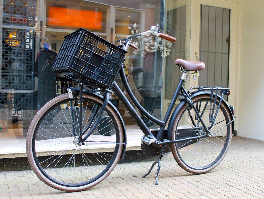 bagagedrager fiets vooraan