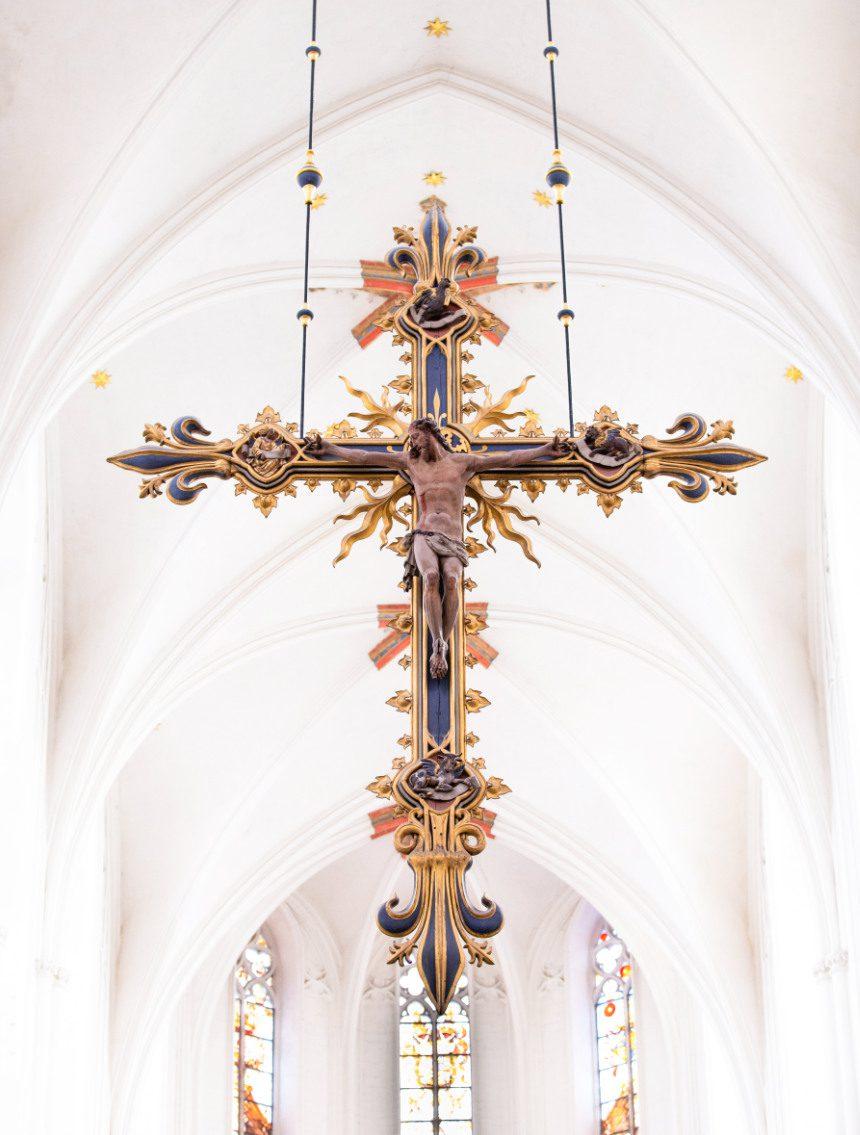 binnenkant Onze Lieve-Vrouw Kathedraal