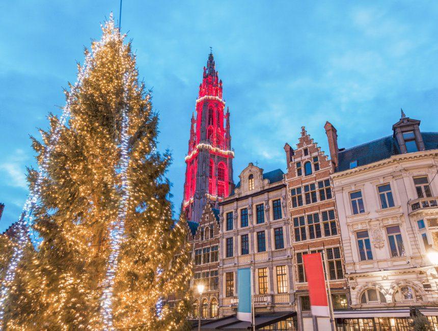 buitenactiviteiten Antwerpen kerstmarkt