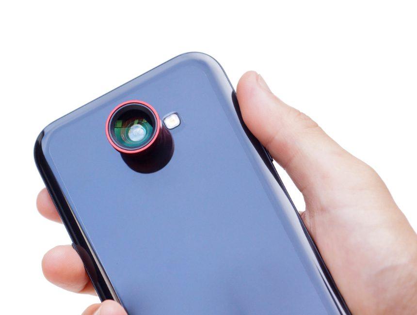 opzetlens smartphone