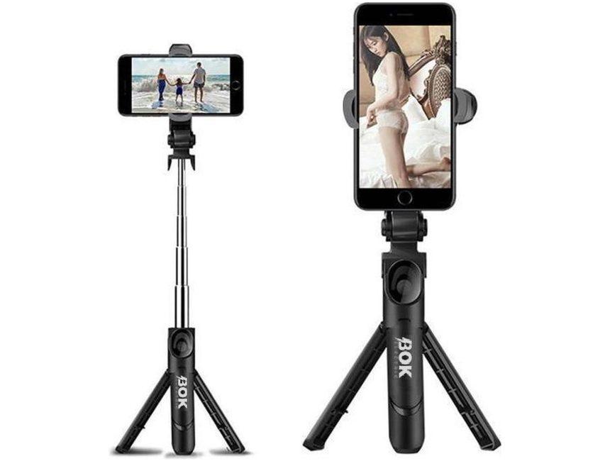 Bok-Electric Statief Smartphone Selfie Stick