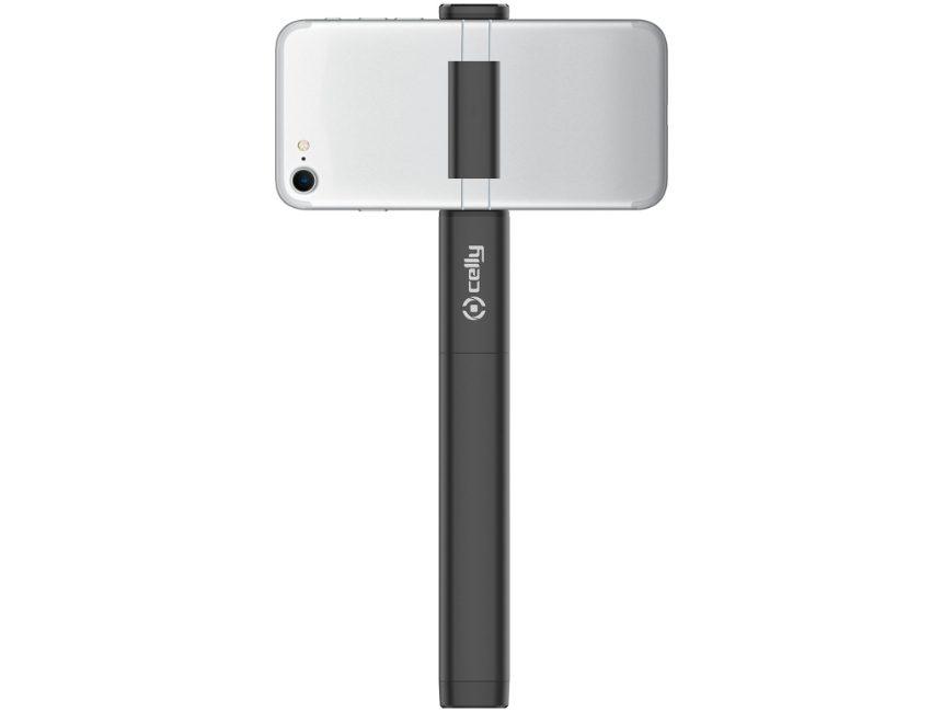 Selfie stick met ingebouwde flits