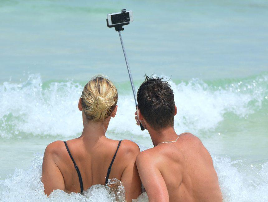 waterdichte selfie stick