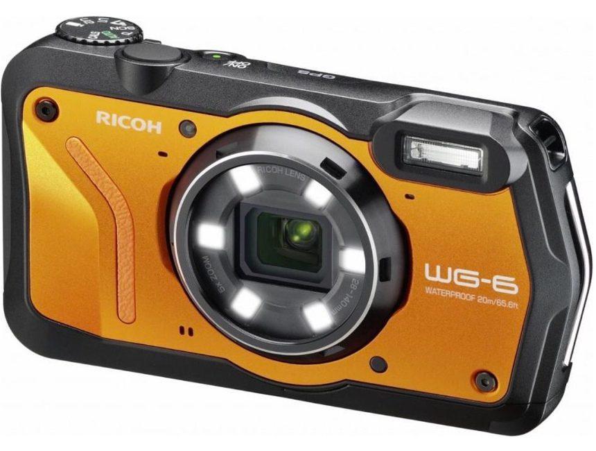 beste waterdichte camera Ricoh WG6