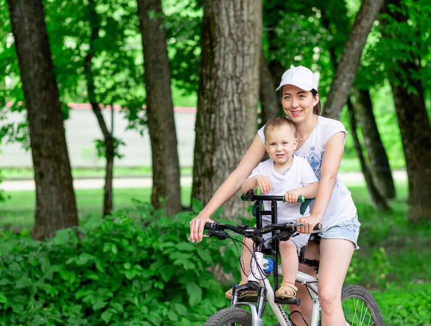 kinderzitje fiets vooraan