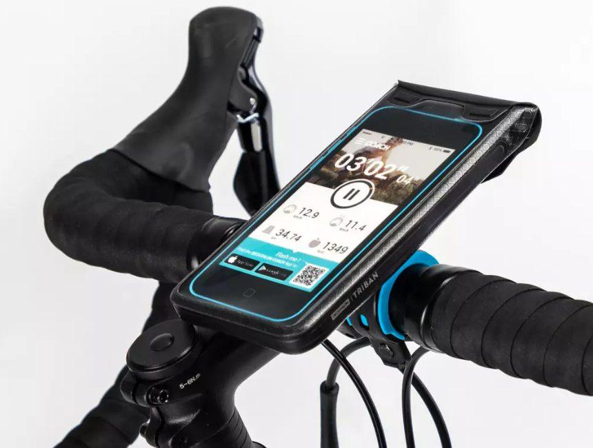 telefoonhouder fiets Decathlon