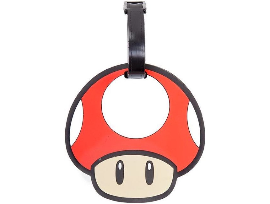 Nintendo Mushroom bagage label