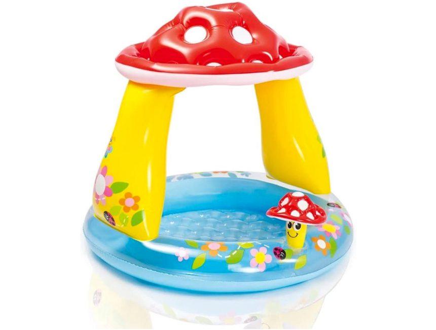 Paddenstoel kinderzwembad