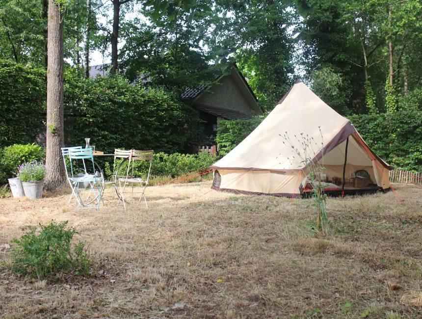 Tipi Tent in de Limburgse kempen