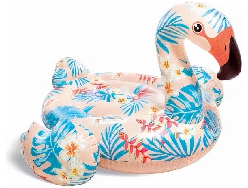 Tropische Intex flamingo