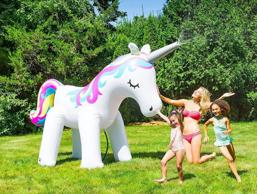 Unicorn SprinklerOpblaasbare Fontein
