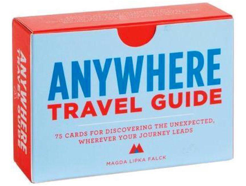 cadeau voor reisliefhebber Anywhere speelkaarten