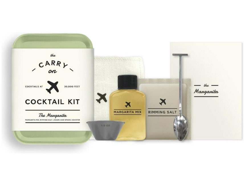 cadeaus voor reizigers Carry on cocktail kit