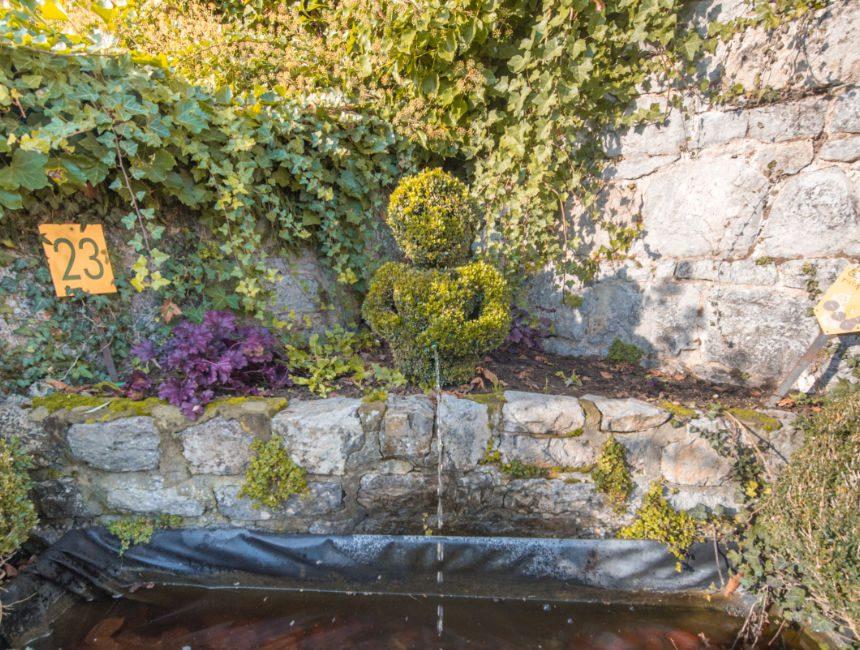 jardin des topiaires durbuy manneken pis