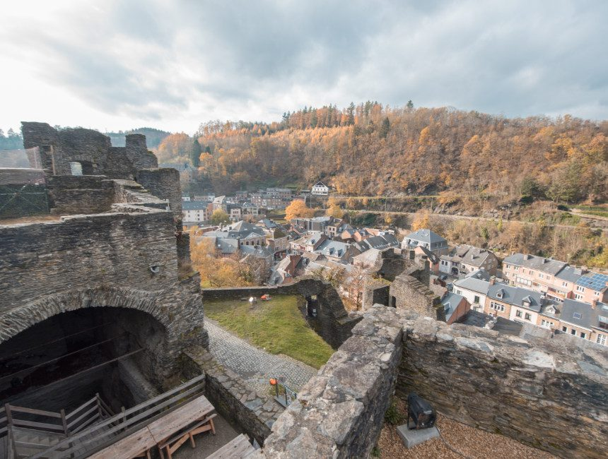 kasteel la roche en Ardenne